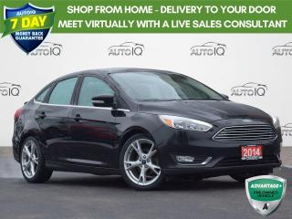 Used 2016 Ford Focus Titanium AUTOMATIC | LEATHER | MOONROOF | NAVIGATION | for sale in Waterloo, ON