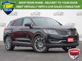 Used 2017 Lincoln MKX Reserve HEATED FRONT & REAR SEATS | HEATED STEERING WHEEL | TECH PKG for sale in Waterloo, ON