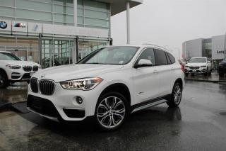 Used 2017 BMW X1 xDrive28i for sale in Langley, BC