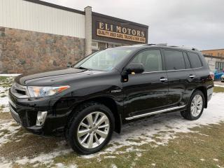 Used 2013 Toyota Highlander Hybrid LIMITED AWD NAVI for sale in North York, ON