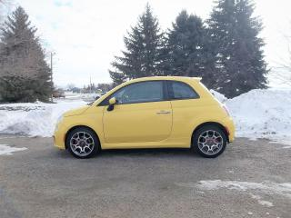 Used 2012 Fiat 500 Sport- Pop Edition Hatchback for sale in Thornton, ON