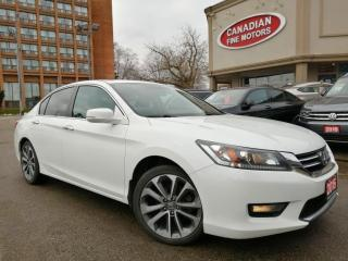Used 2015 Honda Accord Sedan SPORTS PKG | CAM | BLUE TOOTH | 4 NEW SNOW TIRES* for sale in Scarborough, ON