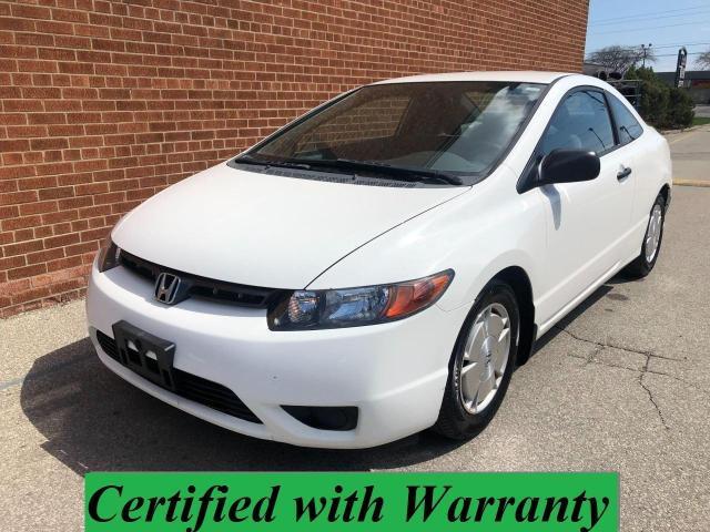 2008 Honda Civic DX-G/2 DOOR/NO ACCIDENTS/SAFETY