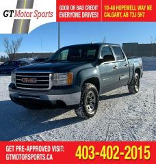 Used 2013 GMC Sierra 1500 SL Nevada Edition |$0 DOWN-EVERYONE APPROVED for sale in Calgary, AB