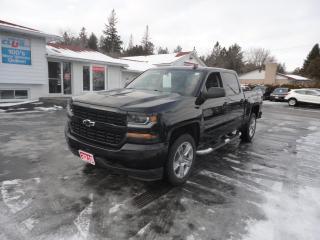 Used 2018 Chevrolet Silverado 1500 CREW CAB - 4X4 - 5.3L V8 - CUSTOM! for sale in Ottawa, ON