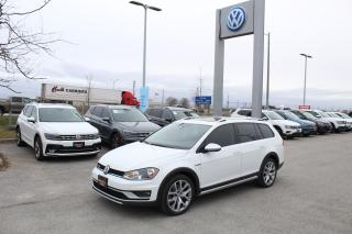 Used 2017 Volkswagen Golf Alltrack 1.8L TSI for sale in Whitby, ON