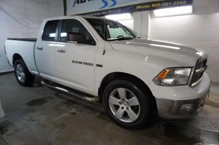 Used 2012 Dodge Ram 1500 V8 SLT HEMI CERTIFIED 2YR WARRANTY *FREE ACCIDENT* BLUETOOTH CRUISE ALLOYS BED COVER for sale in Milton, ON