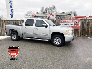Used 2011 Chevrolet Silverado 1500 LS Crew Cab Short Box 4WD Cheyenne Edition, call/text 519-732-7478 for sale in Brantford, ON