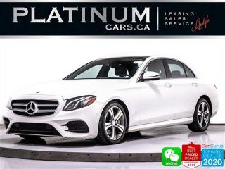 Used 2017 Mercedes-Benz E-Class E400 4MATIC, AWD, NAV, CAM, BURMESTER, HEATED for sale in Toronto, ON