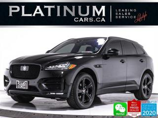 Used 2017 Jaguar F-PACE 20d R-Sport, DIESEL, AWD, NAV, PANO, BLIND SPOT for sale in Toronto, ON