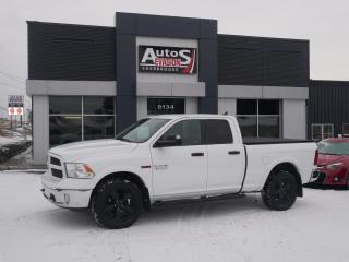 Used 2016 RAM 1500 4WD Quad Cab 140.5  Outdoorsman + ECODIÉSEL + GPS for sale in Sherbrooke, QC