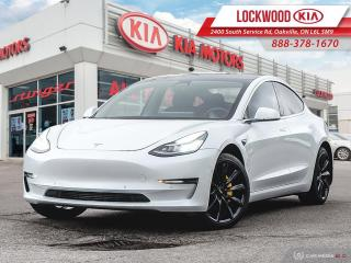 Used 2019 Tesla Model 3 Standard Range Plus | AUTO PILOT | CLEAN CARFAX | for sale in Oakville, ON