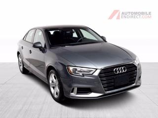 Used 2017 Audi A3 KOMFORT CUIR TOIT MAGS for sale in Île-Perrot, QC