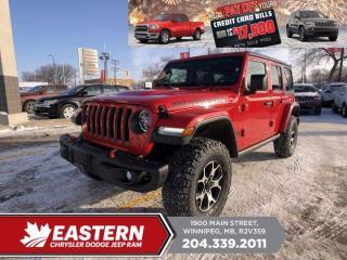 New 2021 Jeep Wrangler Rubicon    Removeable Hard & Soft Top   Blind Spot Det.   for sale in Winnipeg, MB