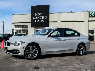 Used 2018 BMW 328 d xDRIVE|DIESEL|DAKOTA LEATHER|NAV|LED LIGHTS|SPORT SEATS for sale in Kitchener, ON