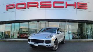 Used 2018 Porsche Cayenne Platinum Edition for sale in Langley City, BC