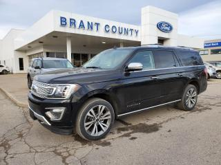 New 2021 Ford Expedition Platinum Max for sale in Brantford, ON
