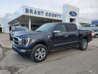 Used 2021 Ford F-150 PLATINUM for sale in Brantford, ON
