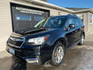 Used 2017 Subaru Forester Limited -  Pano Sunroof -  Chocolate Leather for sale in Kingston, ON