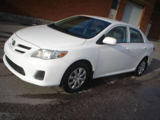 Used 2012 Toyota Corolla CE for sale in Mississauga, ON