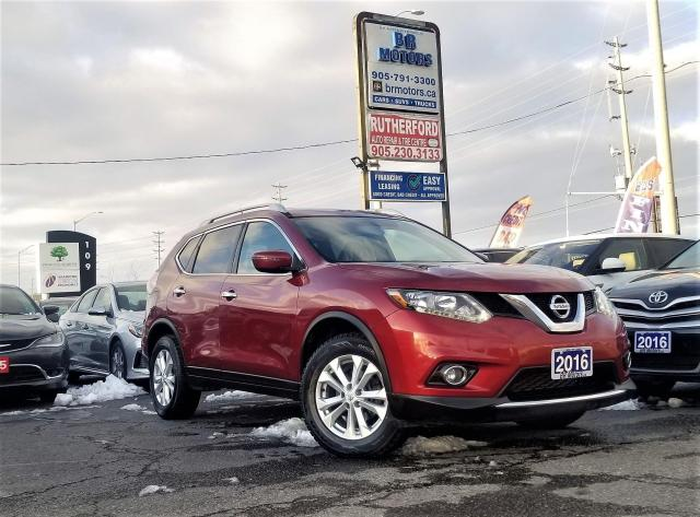 2016 Nissan Rogue No Accidents | AWD | SV |Panoroof |RCAM |Certified
