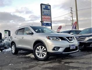 Used 2016 Nissan Rogue Sunroof |AWD | SV |H seats | Nav | Rcam |Certified for sale in Brampton, ON