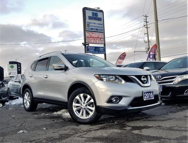 2016 Nissan Rogue Sunroof |AWD | SV |H seats | Nav | Rcam |Certified