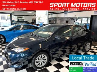 Used 2017 Toyota Corolla LE+Toyota Sense+New Brakes+Lane Keep+ACCIDENT FREE for sale in London, ON