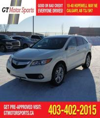 Used 2015 Acura RDX Tech Pkg  | $0 DOWN - EVERYONE APPROVED! for sale in Calgary, AB