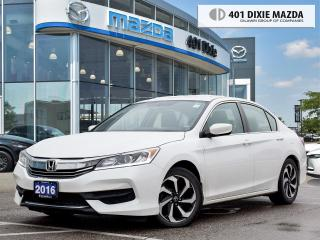 Used 2016 Honda Accord Sedan LX |ONE OWNER|FINANCING AVAILABLE for sale in Mississauga, ON