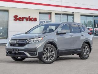New 2021 Honda CR-V SPORT 4WD for sale in Brandon, MB