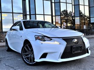 Used 2014 Lexus IS 250 F SPORTS|HEATED SEATS|REAR VIEW|NAVIGATION|SUNROOF! for sale in Brampton, ON