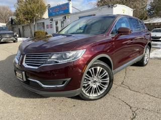 Used 2017 Lincoln MKX AWD 4dr Reserve *BLIND SPOT*NAVI*BACK UP CAM* REMOTE START for sale in Brampton, ON