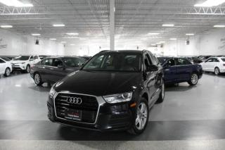 Used 2017 Audi Q3 LEATHER I PANOROOF I HEATED SEATS I POWER OPTIONS I BT for sale in Mississauga, ON