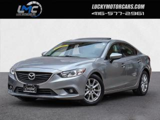 Used 2014 Mazda MAZDA6 I TOURING-SUNROOF-BACKUP CAMERA-BLUETOOTH-WE FINANCE for sale in Toronto, ON