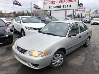 Used 2001 Toyota Corolla CE Automatic, Trade in Special for sale in Mississauga, ON