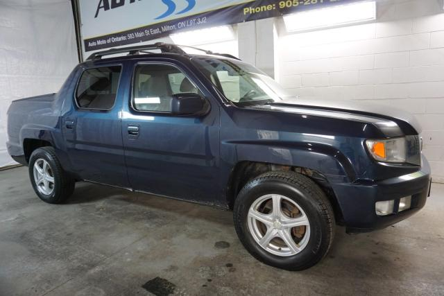 2010 Honda Ridgeline RTL 4WD CERTIFIED 2YR WARRANTY *1 OWNER* CRUISE ALLOYS BED COVER AUX POWER OPTIONS