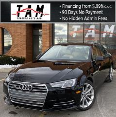 Used 2017 Audi A4 2.0T Progressiv NAVI Sunroof Leather Parking Assist Heated Seats for sale in North York, ON