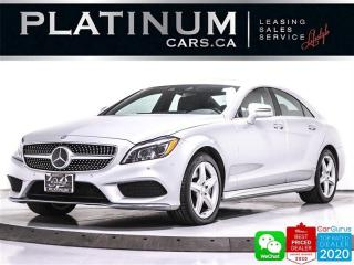 Used 2015 Mercedes-Benz CLS-Class CLS550 4MATIC, AMG, DISTRONIC, NAV, 360CAM, HEATED for sale in Toronto, ON
