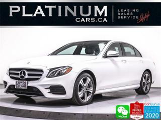 Used 2020 Mercedes-Benz E-Class E350 4MATIC, AWD, NAV, PANO, CAM, HEATED SEATS for sale in Toronto, ON