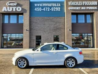 Used 2010 BMW 1 Series 128 Coupé 2 portes 128i for sale in St-Eustache, QC