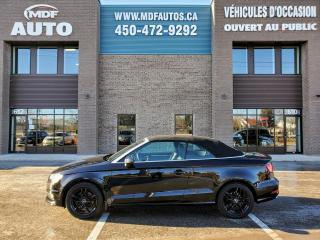 Used 2015 Audi A3 VENDU for sale in St-Eustache, QC