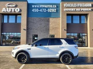 Used 2016 Land Rover Discovery Sport HSE Sport Black Pack for sale in St-Eustache, QC