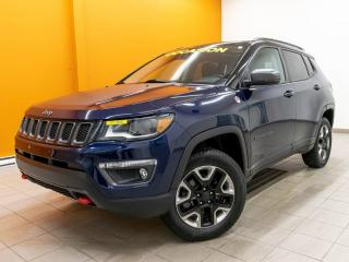 Used 2018 Jeep Compass TRAILHAWK 4X4 CUIR NAV ALERTES SÉCUR *TOIT PANO* for sale in Mirabel, QC