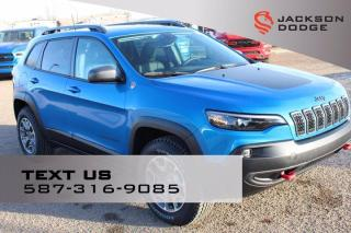 New 2021 Jeep Cherokee Trailhawk Elite for sale in Medicine Hat, AB