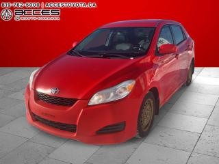 Used 2009 Toyota Matrix fiable for sale in Rouyn-Noranda, QC