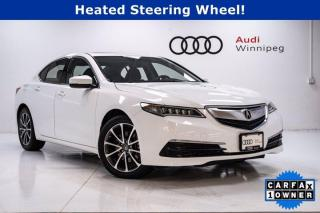Used 2017 Acura TLX V6 Tech AWD w/Navigation *Low KM* for sale in Winnipeg, MB