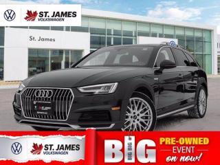 Used 2017 Audi A4 Allroad Technik, Clean Carfax, Apple CarPlay, 360 Camera for sale in Winnipeg, MB