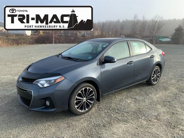 2014 Toyota Corolla T/ COROLLA S, MOONROOF, ALLOYS