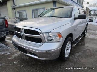 Used 2019 Dodge Ram 1500 LIKE NEW CLASSIC-SLT EDITION 6 PASSENGER 5.7L - HEMI.. 4X4.. CREW-CAB.. SHORTY.. BACK-UP CAMERA.. BLUETOOTH SYSTEM.. POWER REAR WINDOW.. for sale in Bradford, ON